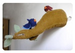 Bird Branch Plush Creation